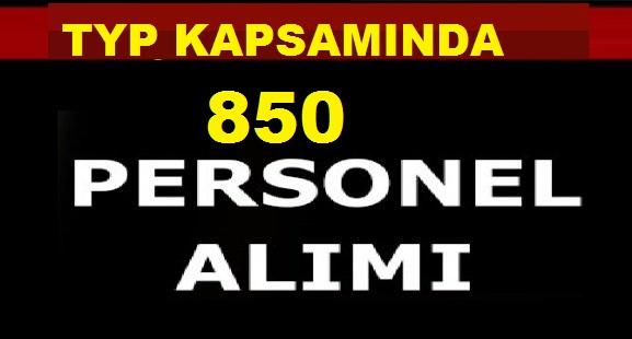 TYP Kapsamında 850 Kamu Personel Alımı Yapılıyor