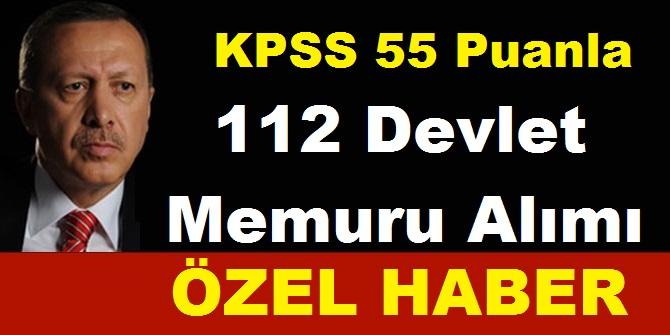 Bursa Büyükşehir Belediyesi, Giresun Eynesil Belediyesi  bay bayan 112 Devlet memuru alımı