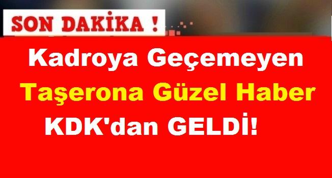 Kadroya Geçemeyen Taşerona Güzel Haber KDK'dan Geldi!