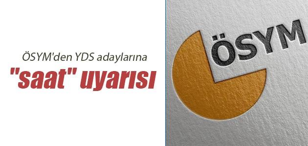 ÖSYM'den YDS/3 Adaylarına Son Dakika Uyarısı!