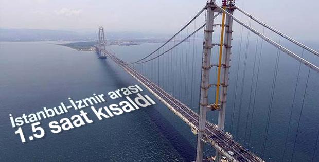 İstanbul-İzmir arası yol süresi kısaldı...Ulaşıma AÇILDI