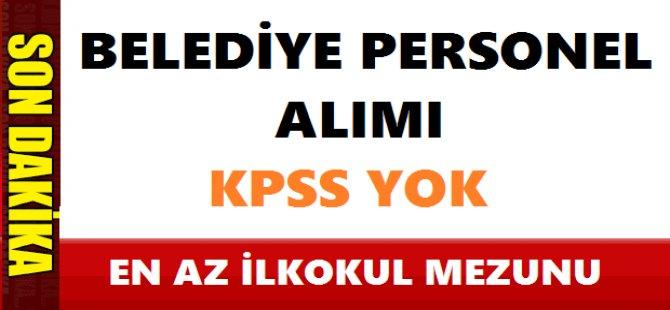 Erzurum Tortum Belediyesi Kamu Personeli Alımı