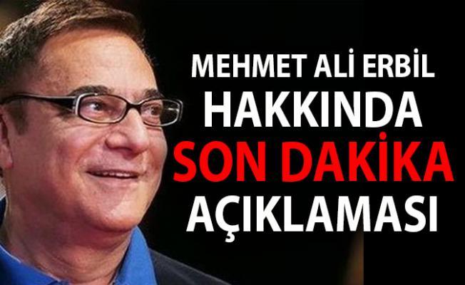 5 Aralık Son Dakika! Mehmet Ali Erbil Öldü Mü?