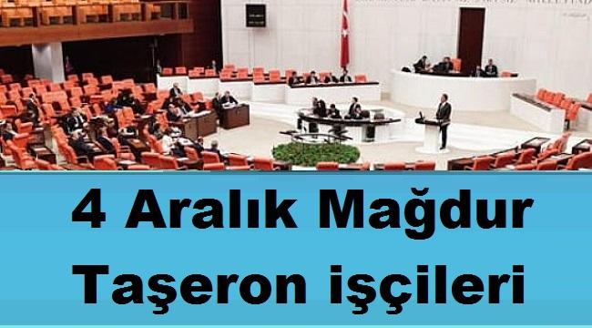 4 Aralık Mağdur Taşeron işçileri tek tek saydı