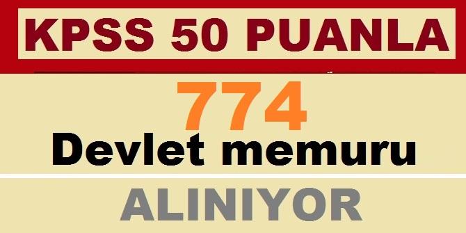 50 ve 60 KPSS Puanı İle 744 Memur Alımı İşte Kadro Dağılımı ve Şartlar