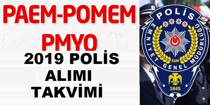 PÖH - POMEM - PMYO Polis Akademisi 2019 Polis Alımı Takvimi Belli Oldu Mu?