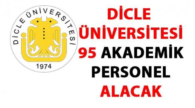 Dicle Üniversitesi 95 Öğretim Üyesi Alım ilanı
