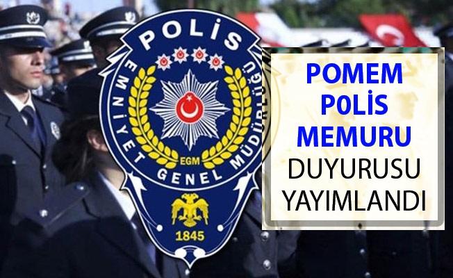 Polis Akademisinden POMEM Polis Memuru Duyurusu Yayımlandı