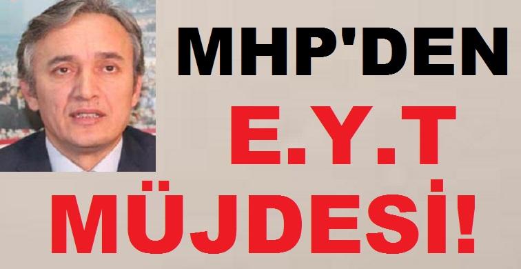 MHP Emeklilikte Yaşa Takılanlara Müjdeyi Verdi