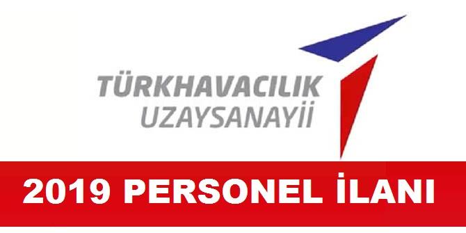 Türk Havacılık Uzay Sanayii 2019 Kamu Personeli Alımı