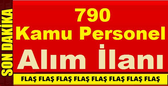 Erzurum ve Karaman Kamu Kurumlarına 790 Kamu Personeli Alımı