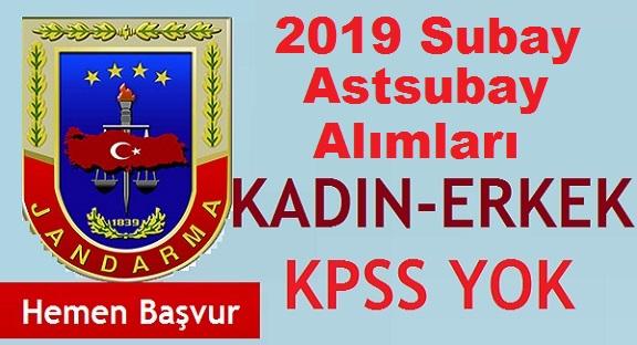 KPSS'siz ve KPSS En Az 60 Puan İle Muvazzaf Subay Alımı 2020
