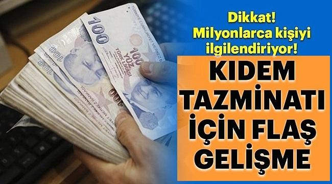 Taşerondan Memura, İşçiden Emekliye 2019 Kıdem Tazminatında Yeni Dönem!