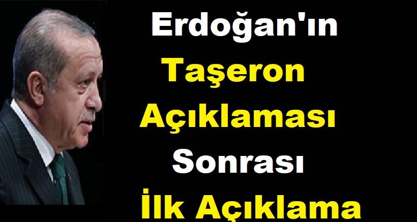Erdoğan'ın Taşeron Açıklaması Sonrası İlk Açıklama