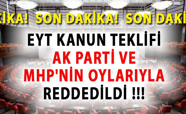 EYT'lilere Kötü Haber! Yasa Yine AK Parti ve MHP Tarafından Reddedildi.