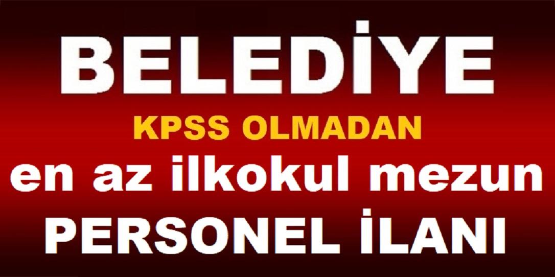 Niğde Belediyesi KPSS Şartsız 5 Sıhhi Tesisatçı Alımı