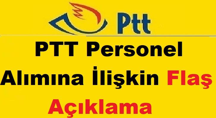 PTT Bin Yüz Kamu Personel Alımı Başvuru Şartları 2019