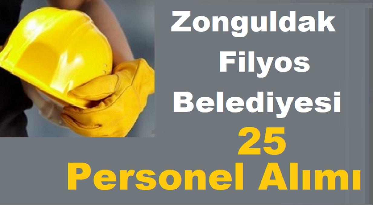 Zonguldak Filyos Belediyesi KPSS'siz 25 Beden İşçisi ve Acil Tıp Teknisyeni Alım ilanı