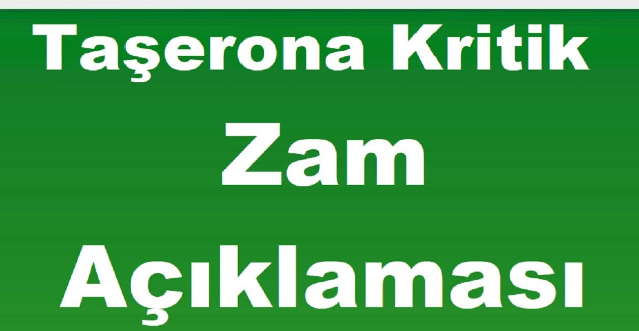 Hak-İş Başkanı Arslan'dan Taşerona Kritik Zam Açıklaması.