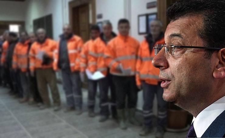 Ekrem İmamoğlu'ndan İBB Taşeron çalışanlarına maaş müjdesi