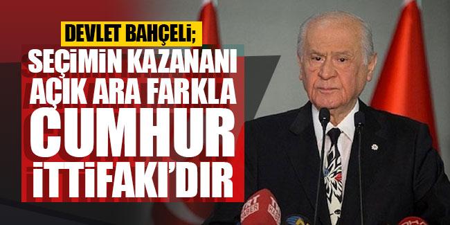 Seçimi Kazanan AK Parti ve MHP dir