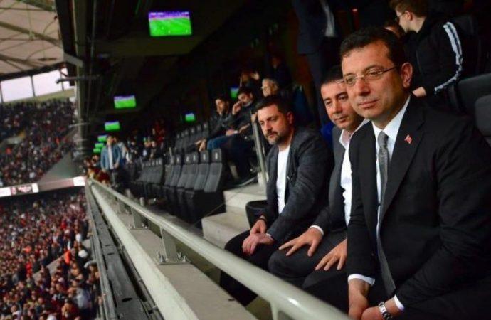 İstanbul Büyükşehir Belediye Başkanı Ekrem İmamoğlu böyle karşılandı!