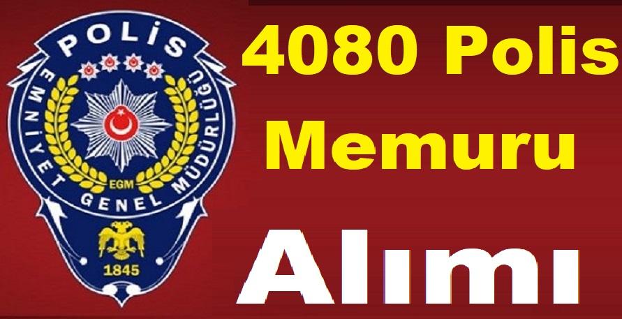 Son Haber! Emniyete 4080 Polis Memuru Alımı İçin Kadro Verildi