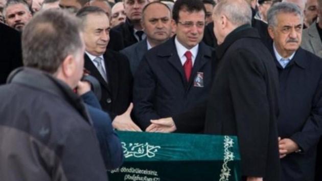 Erdoğan, İBB başkanı Ekrem İmamoğlu'nun elini sıkmadı!