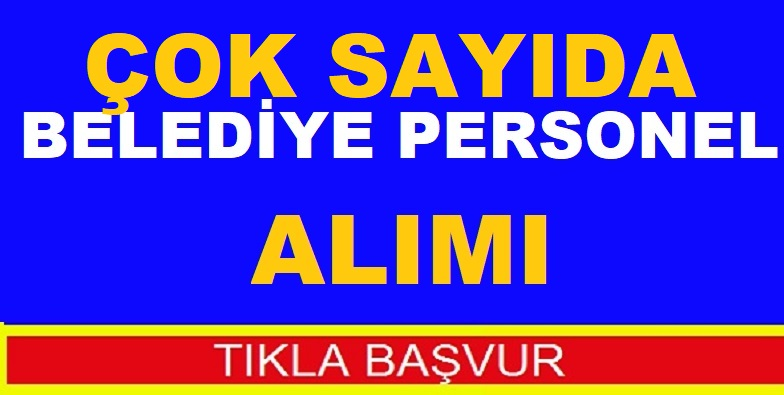 Erzurum Uzundere Belediyesi Şoför Çaycı ve Temizlikçi Alıyor
