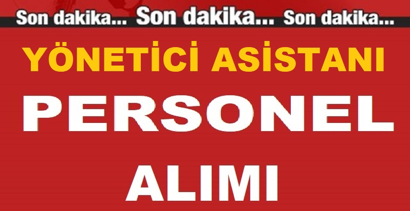 Eskişehir Büyükşehir Belediyesi Yönetici Asistanı Personel Alımı