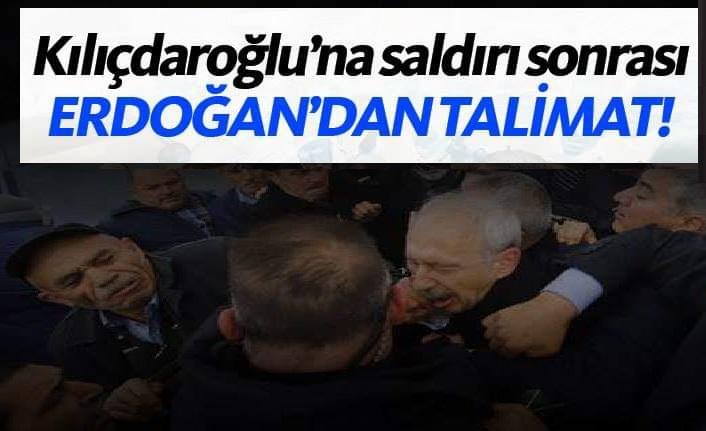Erdoğan'dan 'Kılıçdaroğlu' talimatı!