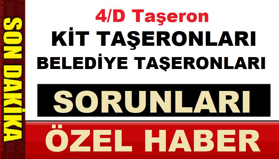 1 Mayıs Çarşamba 4/D'li ,KİT ve Belediye Taşeronların Sorunları ÖZEL HABER