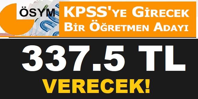 2019 KPSS A Grubu, Öğretmenlik ve ÖABT tercih kılavuzu başvuru ücretleri