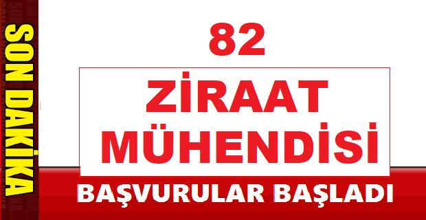 İşkur Tarafından 82 Ziraat mühendisi İş ilanı Yayınlandı
