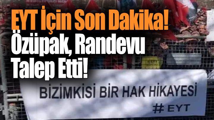 EYT'liler Cumhurbaşkanı Erdoğan'dan Randevu Talep etti