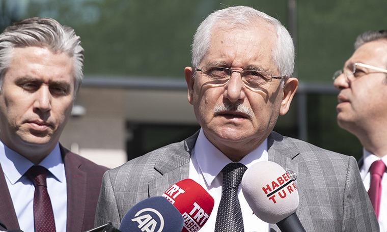 YSK Başkanı Güven'den seçmen kağıdı açıklaması