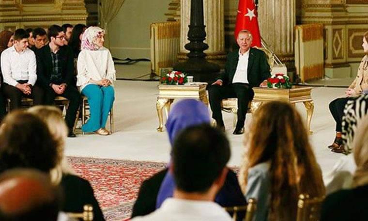 Erdoğan : İmamoğlu Stv de çalıştı