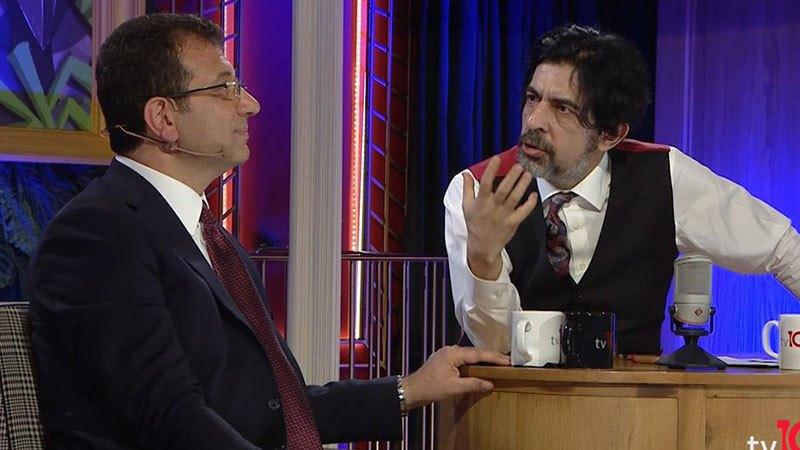 """İmamoğlu, Bayülgen'in """"Proje misiniz?"""" sorunu yanıtladı:"""