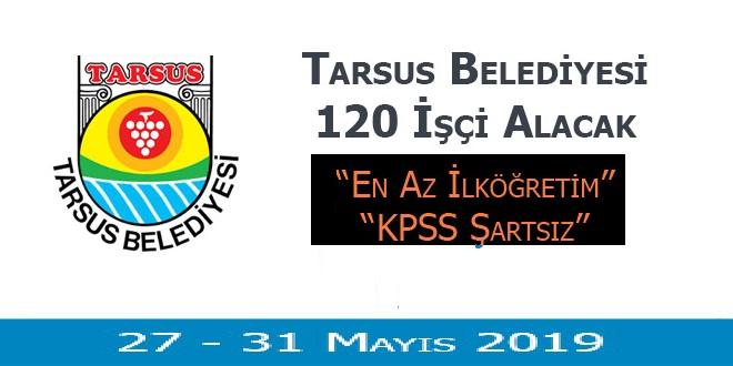 Tarsus Mersin Belediyesi 120 Kamu Personeli Alımı Yapıyor