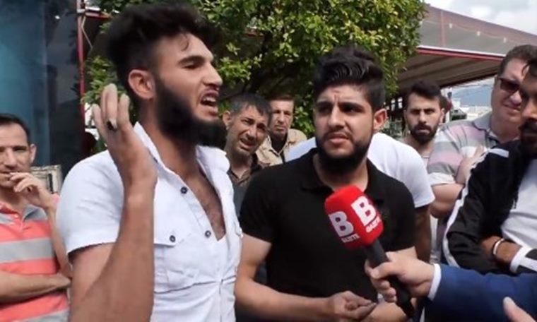 """Suriyeli sığınmacı: """"Kafa kesmek istiyorum"""""""
