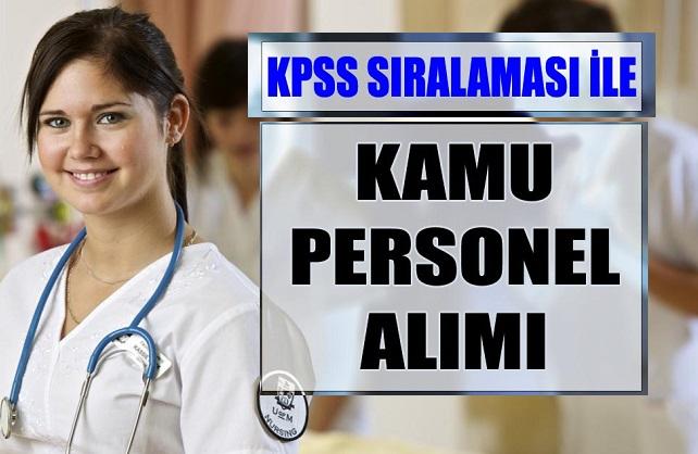 KPSS sıralaması ile 5 kamu personeli alımı yapacak