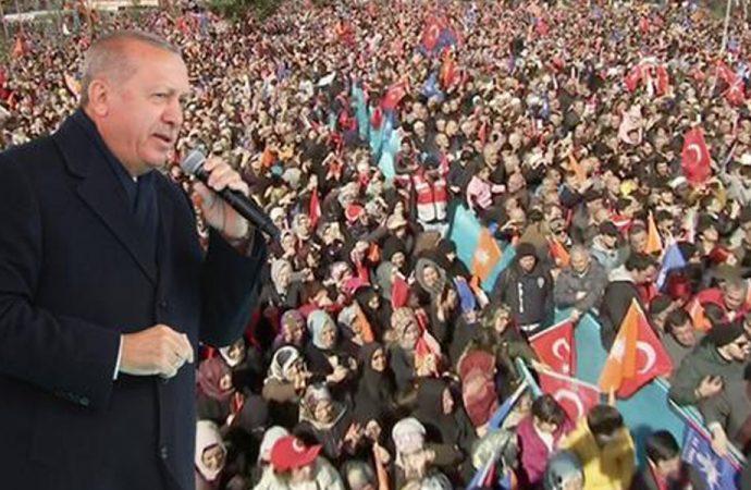 Anket sonuçları Erdoğan'a geri adım attırdı! 39 ilçede miting planı iptal