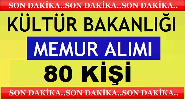 Kültür Bakanlığı Burdur Sagalassos 80 kamu işçisi alıyor