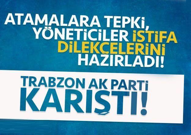 Murat Zorluoğlu AK Parti Trabzon'u karıştırdı