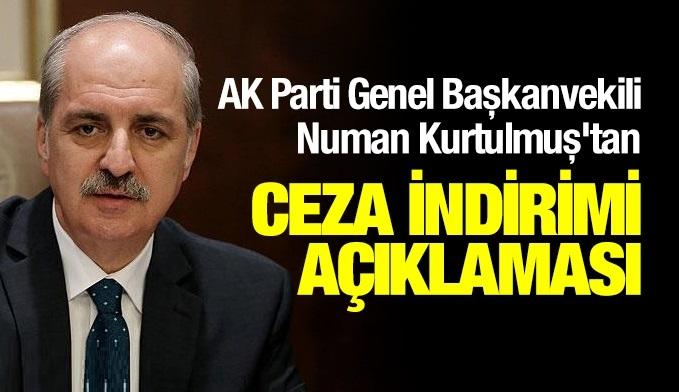 Numan Kurtulmuş'tan canlı yayında ceza indirimi ve infaz düzenlemesine dair açıklama
