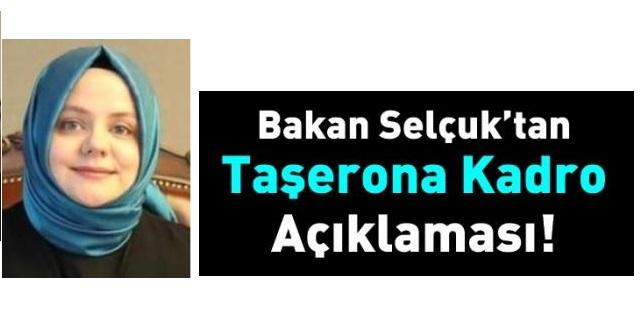Sosyal Hizmetler bakanından Taşerona Kadro Açıklaması
