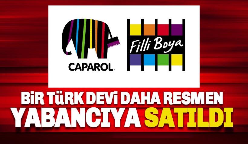 Türk devi Betek Boya da yabancıya satıldı.