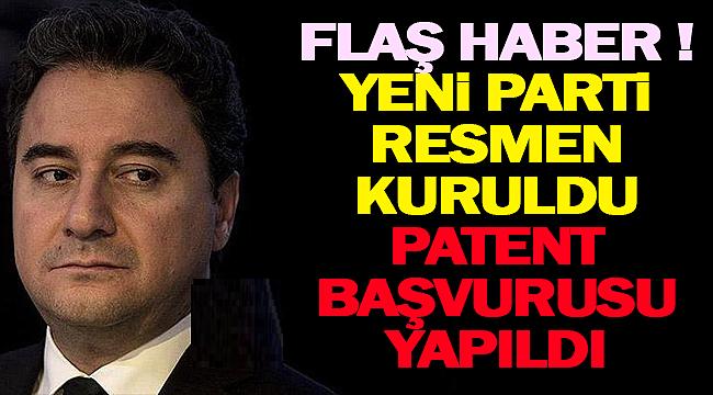 %Yeni Parti İsmi Belli Oldu ! Türk Patent'e İsim Başvurusu yapıldı