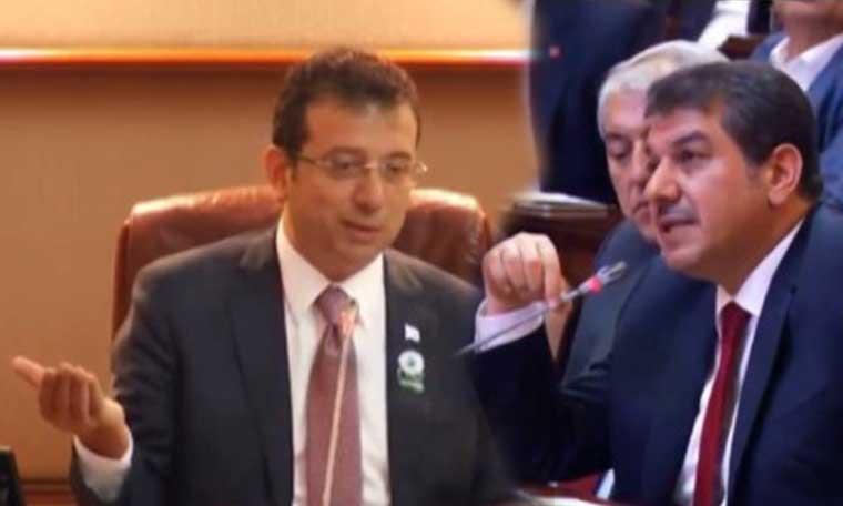 İBB Meclisi'nde 'Erdoğan' gerilimi! İmamoğlu böyle yanıt verdi - VİDEO