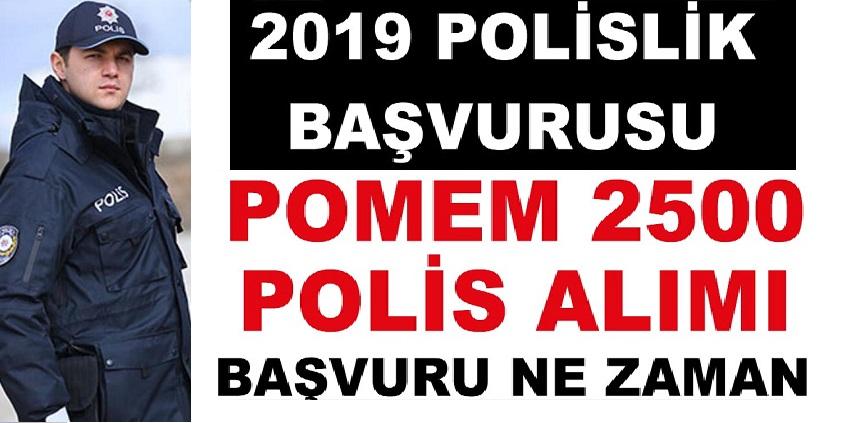 Polis Akademisi Başkanlığı 2019 yılının kalan günlerinde 18 bin polis ve özel harekatçı alımını yapacak